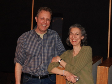 James Reams, Artist, Tina Aridas, Manager At Barnstormers Session