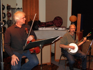Kenny Kosek, Doug Nicolaisen In Session For The Barnstormers At Shelter Island