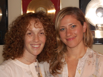 Jennifer Marks And Lucy Woodward In Session For 'My Changing Planet'