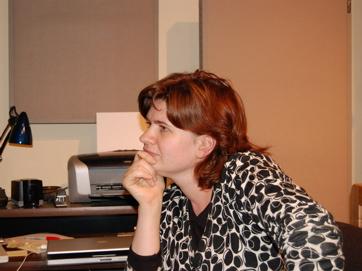 Director/Writer Emmy Laybourne - Session For 'My Changing Planet'