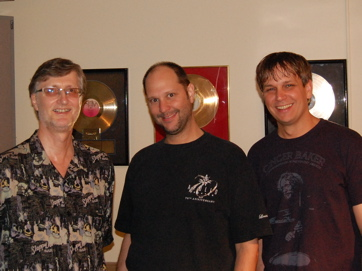 Paul Siegel — Hudson Music, Sean McClintock (engineer), Keith Carlock (drummer, Steely Dan)