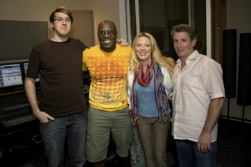 Doug, Everett, Sherie Rene Scott (Ursula In The Little Mermaid) And Greg Parratto For 'Our Time.' Photo By Mikiodo