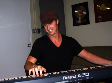 Kevin Patrick — Keyboard Whiz With Blondie, Records A Blazing Synth Solo.