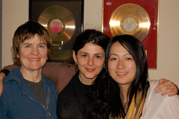 Barbara Merjan, Meredith LeVande, Yuka Tadano - Session For Monkey Monkey Music.