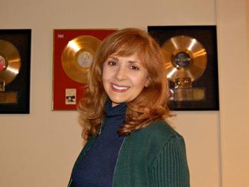 Emily Bindiger At Julie Gold Mastering Session.
