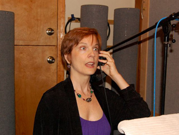 Sally Morgan At Work.