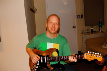 Oz Noy In Session For Amy Lennard.
