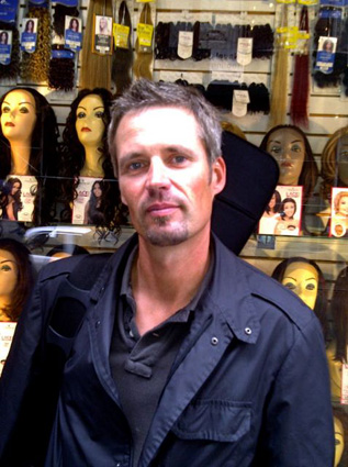 Patric Westoo At The Wig Store.