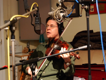 Fiddler Bill Christophersen.
