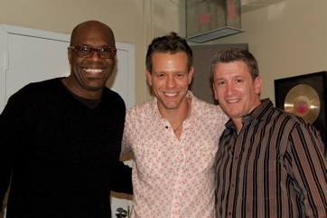 Everett Bradley, Adam Pascal (Rent, Original Cast), Greg Parratto For 'Our Time'