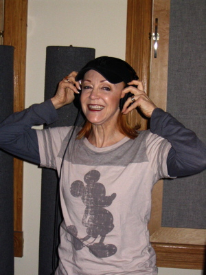 Karen Hebert Channels Anne-Margaret At A Session For Pure Romance.