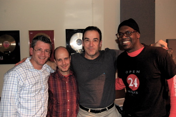 Greg Parratto, Taro Alexander, Mandy Patinkin, Everett Bradley — Session For 'Our Time'