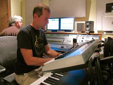 David Beale, Artist. Session At JGMP. Photo By Jeffrey Davis