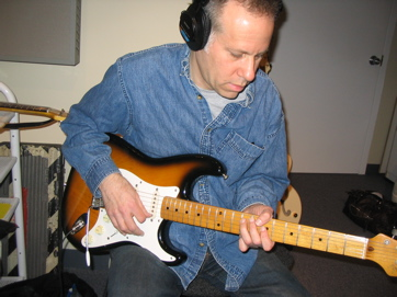 Larry Saltzman — The Quintessential Guitarist-raconteur, With Maple-neck Strat.