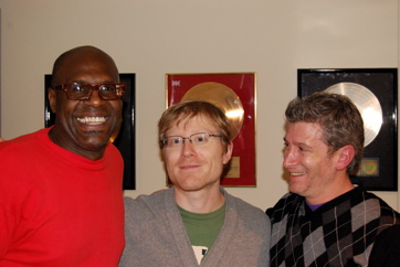 Everett Bradley, Anthony Rapp (Rent — Original Cast), Greg Parratto For 'Our Time'