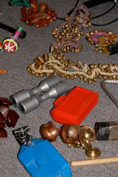 A Few Of Davi's Toys