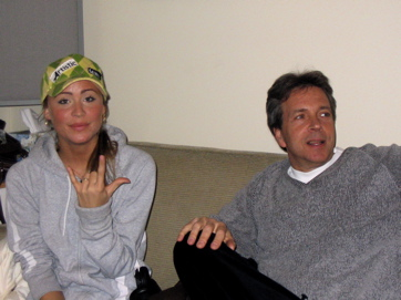 Sara Varga — Artist, With Steve Dwire — Producer. Hand Gesture — Unknown