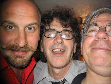 Joe Mannix, Dave Rave & JG, Ready For Their Closeup.