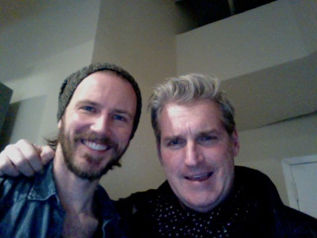 Bill Heck And James Colby In ADR Session For Taxi: Brooklyn South