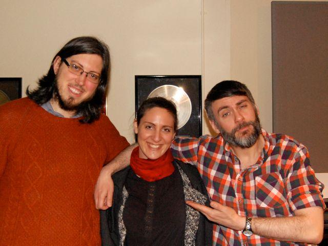 Brian Sanders - Cello, Carolin Pook - Violin, John Presnell - Artist. Session For 'The Bad Guy' EP.
