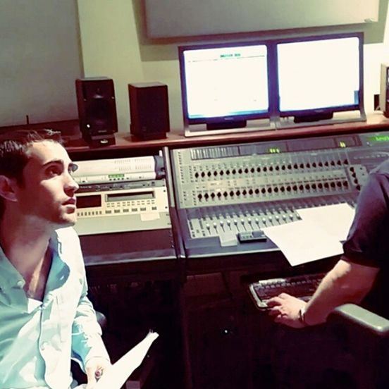 Jay Gallagher. Session For Arpeggio - Photo By Silvano DiMonte