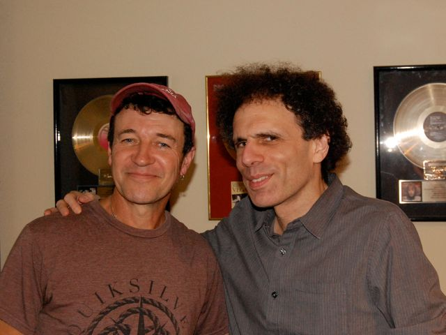 Denny McDermott, Drums And Eytan Mirsky, Artist. Session For New Eytan Album.