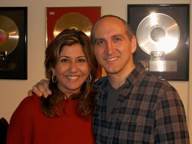 Nilofer Merchant & Jonathan Fields VO Recording For Good Life Project.