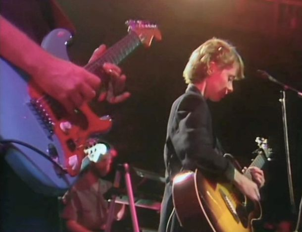 From Old Grey Whistle Test Taping: Jon, Peter Zale, Suzanne Vega