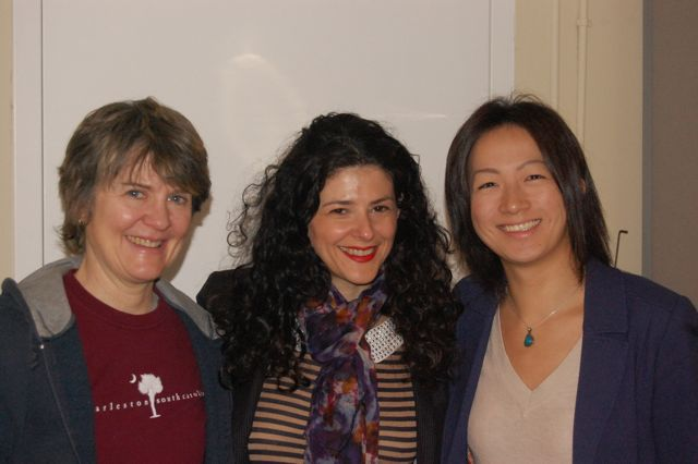 Barbara Merjan, Meredith LeVande, Yuka Tadano. Session For Monkey Monkey Music.